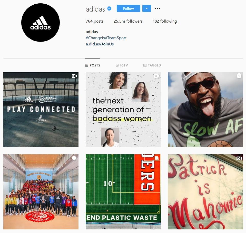 Adidas - Social Media Marketing Strategy
