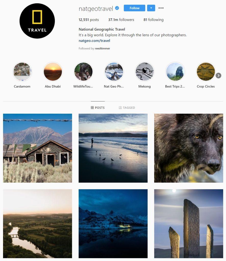 Nat Geo Travel - Social Media Marketing Strategy