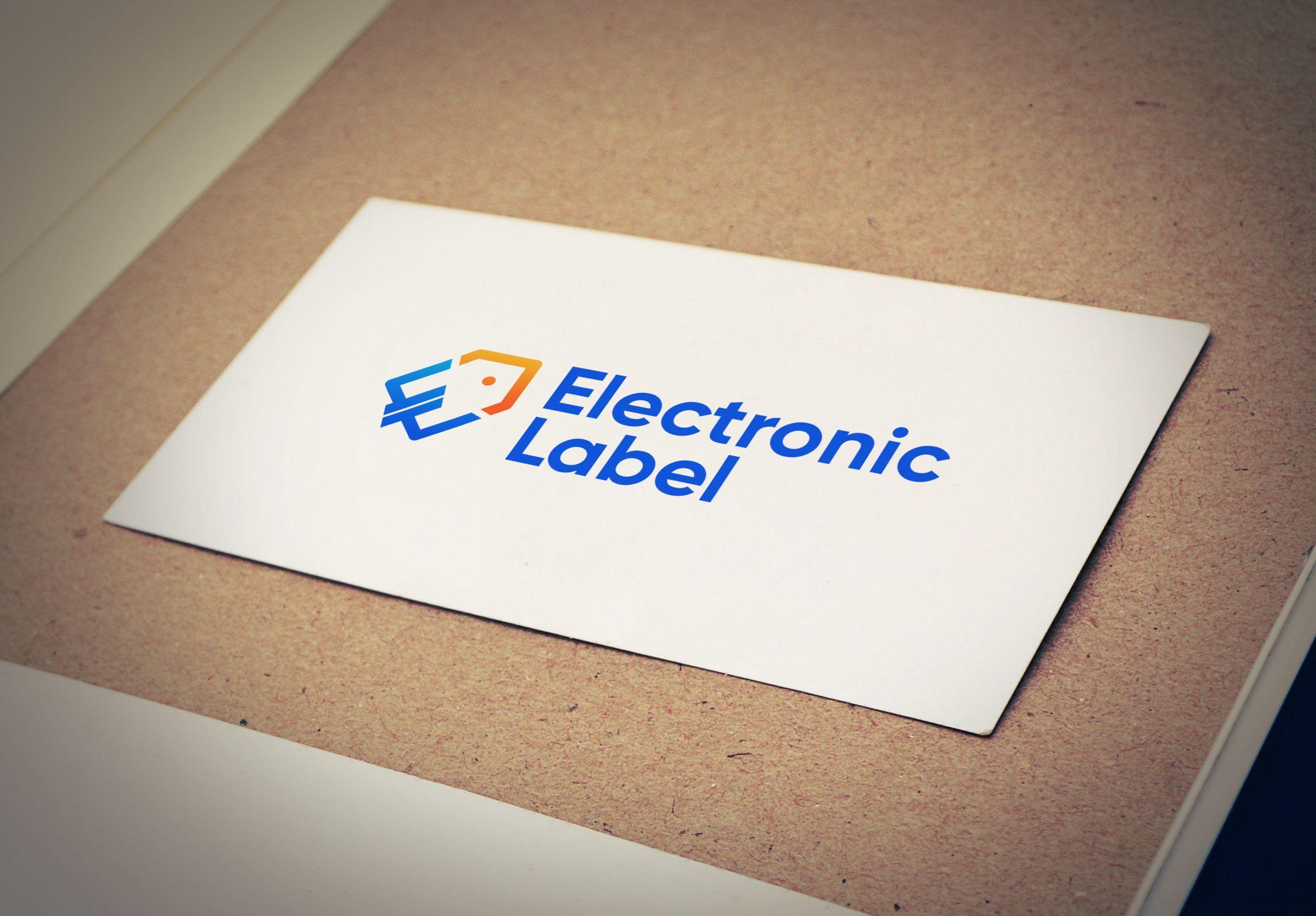 logo design service electronic label logo
