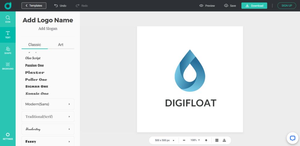 DesignEvo - Logo Design Software