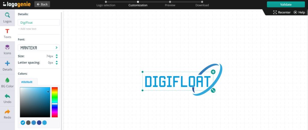 LogoGenie - Logo Design Software