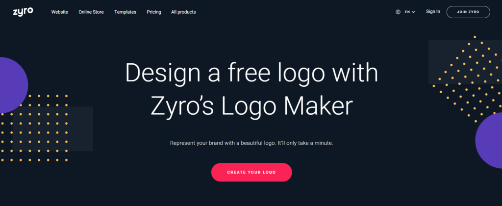 Zyro - Logo Design Software