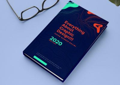 Graphic Design Portfolio Book Cover 3
