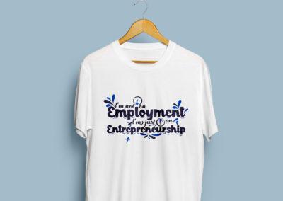 Graphic Design Portfolio T Shirt numvber1