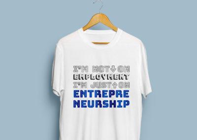 Graphic Design Portfolio T Shirt numvber3