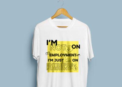 Graphic Design Portfolio T Shirt numvber5