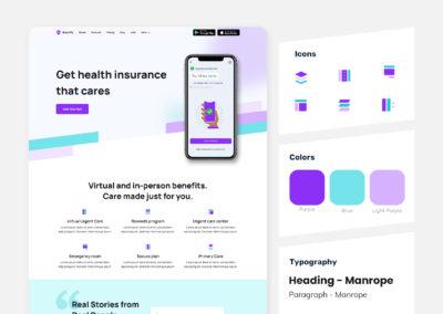 Graphic Design Portfolio Web UI 2