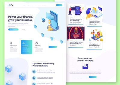 Graphic Design Portfolio Web UI 3
