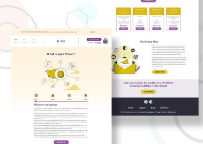 Graphic Design Portfolio Web UI 4