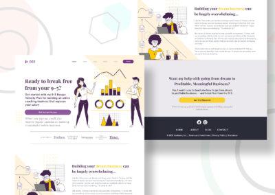 Graphic Design Portfolio Web UI 5