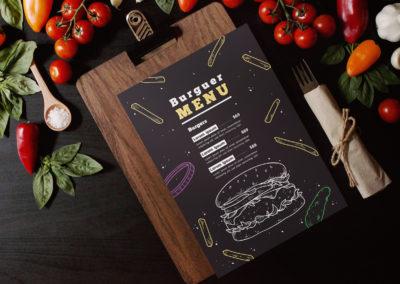 Graphic Design Portfolio menu 3