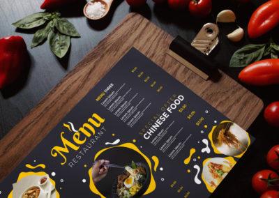 Graphic Design Portfolio menu 4