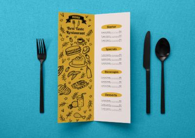 Graphic Design Portfolio menu 5