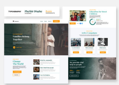 Graphic Design Portfolio web ui 10