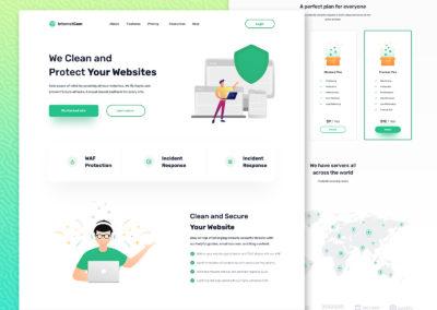 Graphic Design Portfolio web ui 11