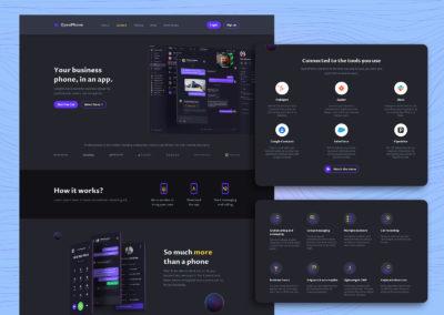 Graphic Design Portfolio web ui 14