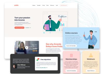 Graphic Design Portfolio web ui 15