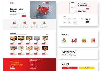 Graphic Design Portfolio web ui 6
