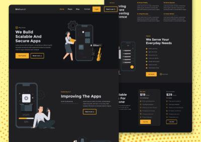 Graphic Design Portfolio web ui 7