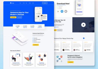 Graphic Design Portfolio web ui 9