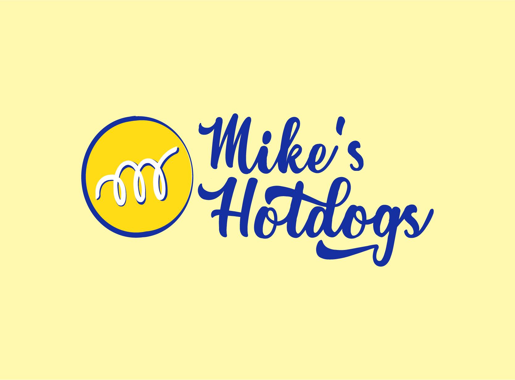 logo design services Mikes hotdog