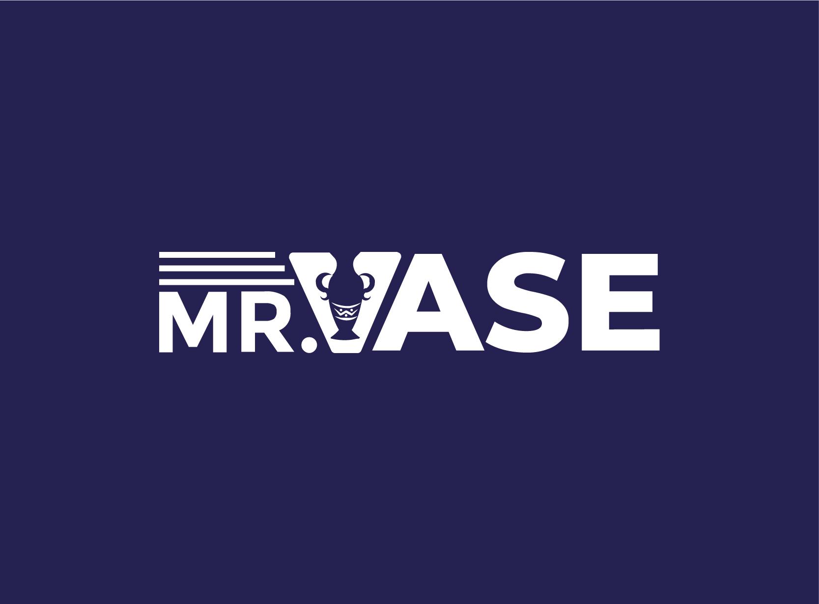 logo design services Mr. Vase