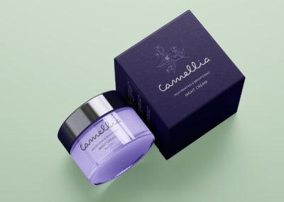 Graphic Design Portfolio Cosmetic cream
