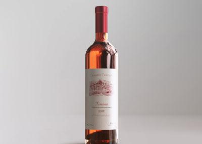Graphic Design Portfolio Wine packaging label