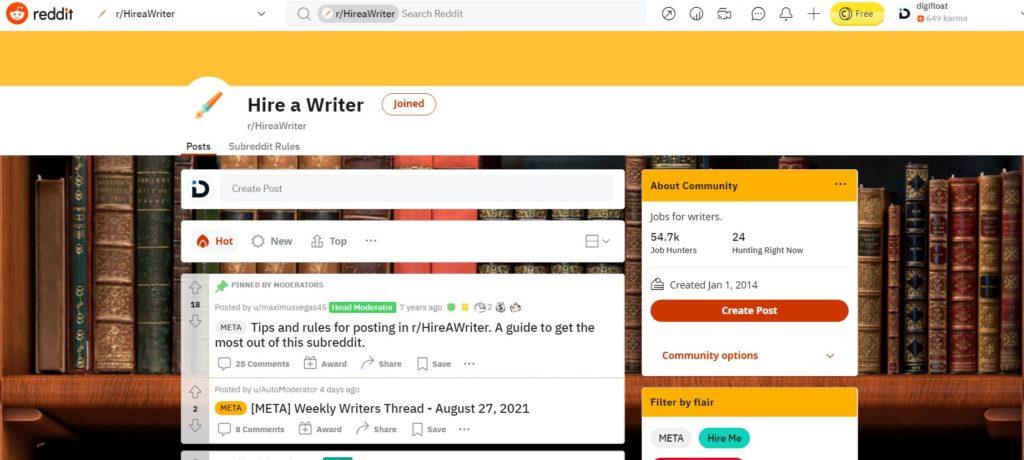 hire freelancer writer